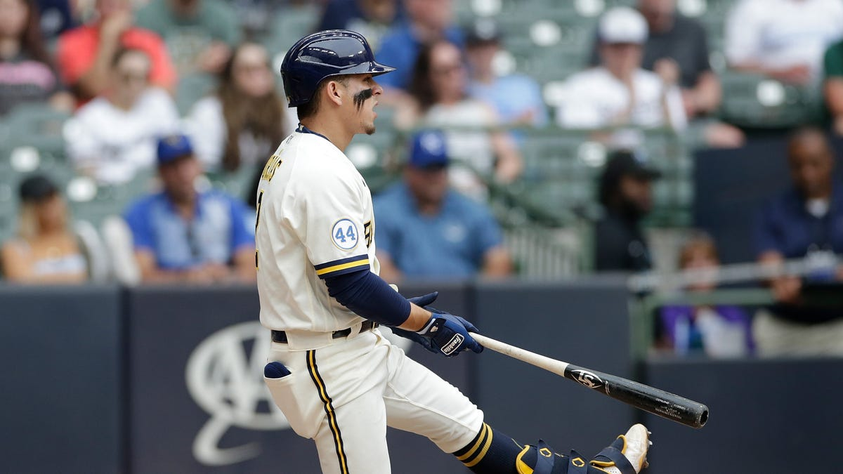Royals 5, Brewers 2: After a stirring sweep in Cincinnati, the Brewers return home and turn in a flat performance
