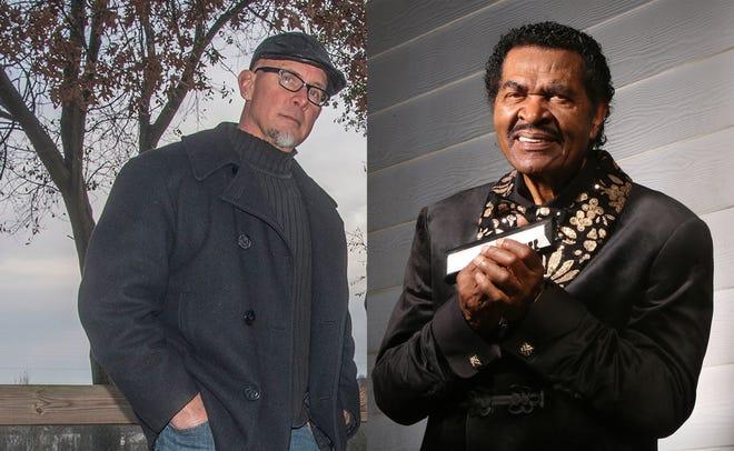 Montgomery blues artist John Bull, left, will open for Grammy-winning blues artist Bobby Rush on Thursday and Friday
