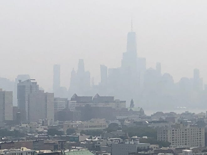 Wildfires in the Western US have led the N.Y. State DEC and Dept. of Health to issue a statewide air quality advisory.