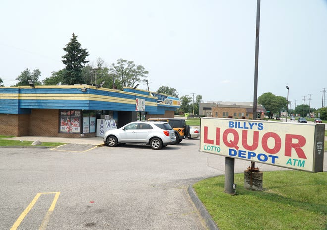 Billy's Liquor Depot at Grand River and Inkster.