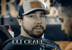 Congressional candidate Eli Crane in a campaign ad announcing in July 2021 that he's running for the Republican nomination in Arizona's 1st Congressional District in 2022.