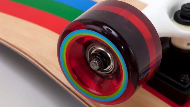 Polyurethane wheels are the only way to go.