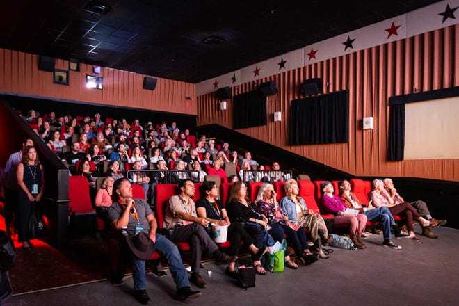 Hill Country Film Festival, seen here in 2019, returns to in-person cinema this year.