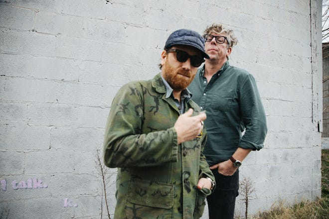 (L-R) Dan Auerbach and Patrick Carney of The Black Keys are shown in this promotional photo from Q-Prime Management. The band is scheduled to play at the Classic Center in Athens, Ga. on Sept. 20, 2021.