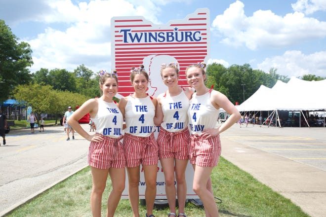 The Twins Days Festival, which is Aug. 6 through 8 this year, is the largest annual gathering of twins and multiples in the world.