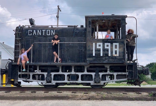 First Presbyterian and Trinity Lutheran Churches in Canton are teaming up for Vacation Bible School. The invite children to attend 'Rocky Railway VBS: Jesus' power pulls us through.