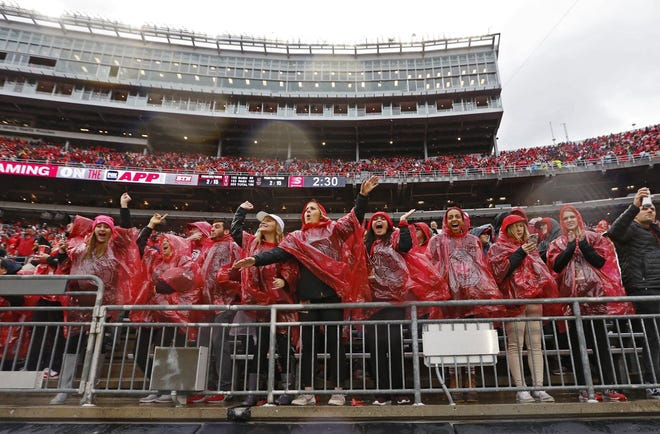 During an unconventional offseason, Ohio State's season-ticket sales for this year dipped. But the school anticipates there won't be any coronavirus-related attendance restrictions this fall.