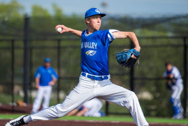 Pitcher Jacob Misiorowski missed out on his senior high school season at Grain Valley because of the COVID-19 pandemic and then injured his knee in his first time throwing for Crowder College. The setbacks cost him a chance to go in the MLB Draft the last two years, but he remains optimistic that his chances of being drafted are not done yet.