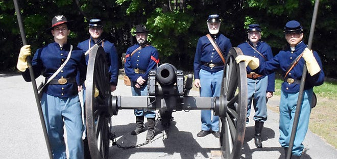 1st New Hampshire Light Artillery, a Civil War reenactment group, will be at the Col. Paul Wentworth House in Rollinsford on Saturday, July 31.