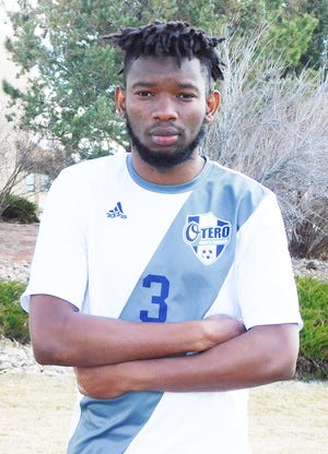 Otero College's Ousseynou Cisse was named a second team All-American by the NJCAA.