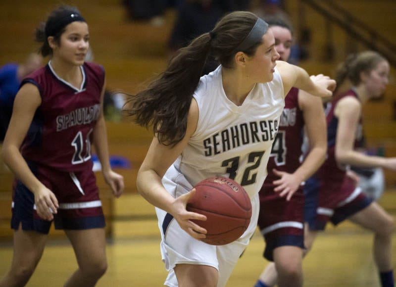 Ilona Maher played basketball in high school.