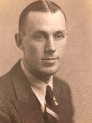Bill Robertson in the 1920s.