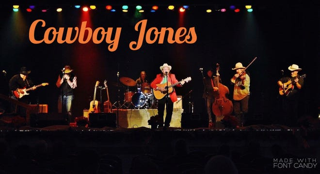 Cowboy Jones will perform during an Aug. 1 Elm Tree Concert at the Arcadia Round Barn.