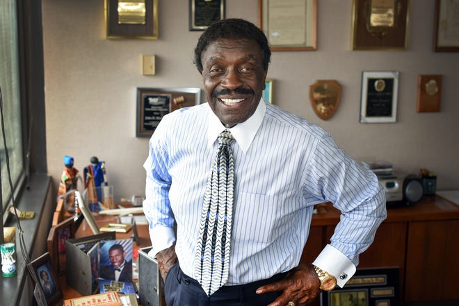 John Howard retired in 2018 as head of the Black Business Investment Corp. which guarantees bank loans to Black and minority-owned businesses. Howard died on July 11 at age 83. (Melanie Bell / The Palm Beach Post)