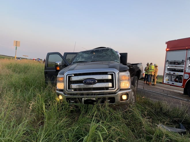 The truck driven by Toby Moore of Ballinger. Moore pulled out onto Highway 83 in front of fellow Ballinger resident Justin Busenlehner on Tuesday evening around 7:15. Moore's vehicle was struck on the driver's side, bending and twisting the frame. Busenlehner's truck received extensive damage to the front, engine, and cab. Moore died at the scene. Busenlehner was flown to Parkland Hospital in Dallas. According to the TXDOT CRIS website, Moore had a BAC of .329.