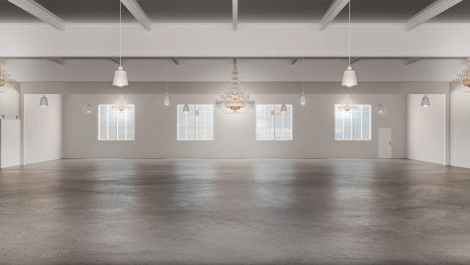 This rendering created by Denisse Moralli, of denissemoralli.com, shows what Venue 514 may look like upon completion. The venue should be open by spring 2022.