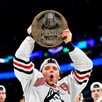 Grant Jozefek, who played on three Beanpot champions at Northeastern, has signed with the Worcester Railers.
