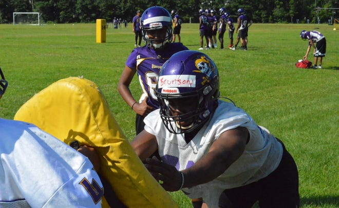 The Jack Britt football team remains committed to the details ahead of August practice.