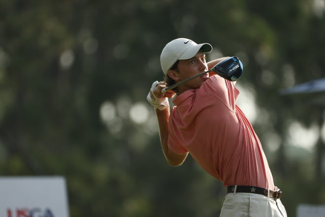 Jackson Van Paris and three other junior golfers from North Carolina competed in the U.S. Junior Amateur's round of 64 on Wednesday in Pinehurst.