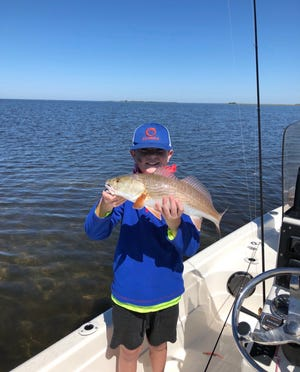 Sage Pridemore fishing, one of his favorite hobbies. [Photo courtesy of Pridemore family]