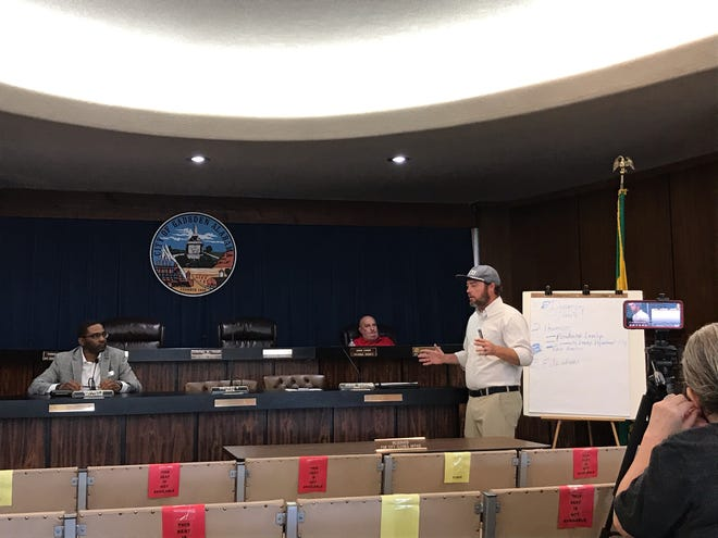 The City of Gadsden's Human Relations Advisory Committee discussed issues that need to be addressed in a meeting prior to Tuesday's City Council meeting.