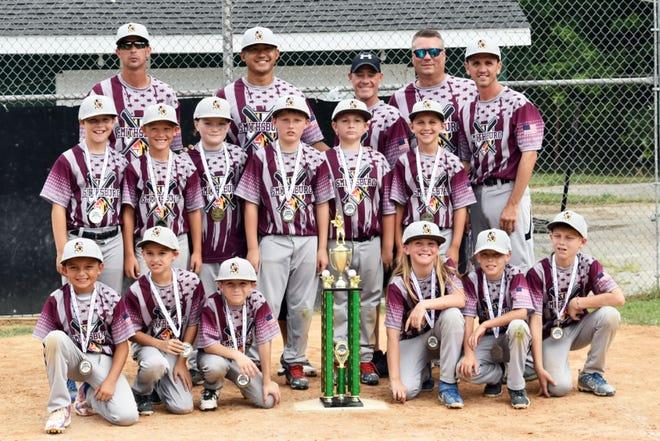The Smithsburg All-Stars won the 10U Battle in the Burg Tournament in Mercersburg, Pa.