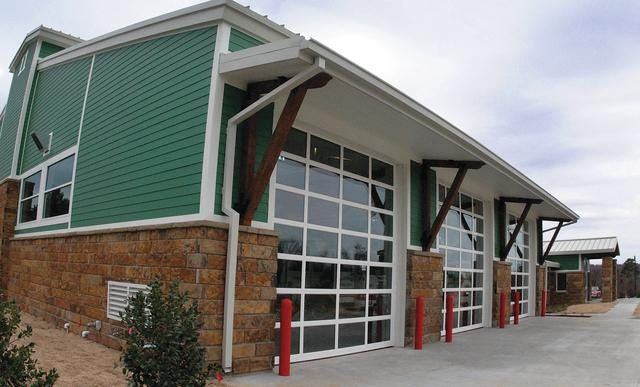 Fort Smith Fire Station 11 in Chaffee Crossing was chosen to house a Safe Haven Baby Box.