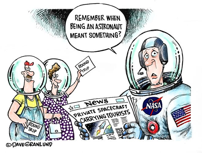 Dave Granlund on space travel