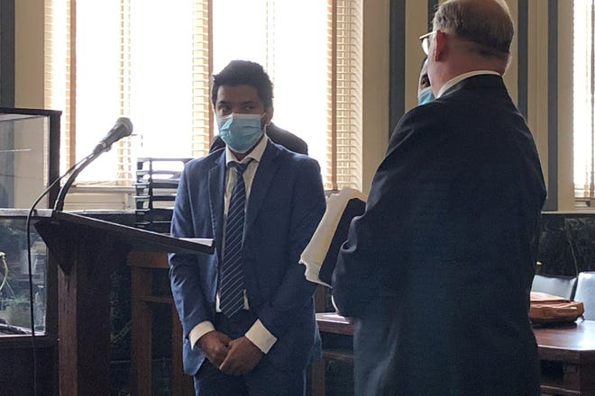 Samuel Darjee, a refugee from Nepal, pleaded guilty and was sentenced Wednesday, July 21, 2021 to six months in prison, for having sex with a 14-year-old girl when he was 18. The case was in Hamilton County Common Pleas Court before Judge Wende Cross.