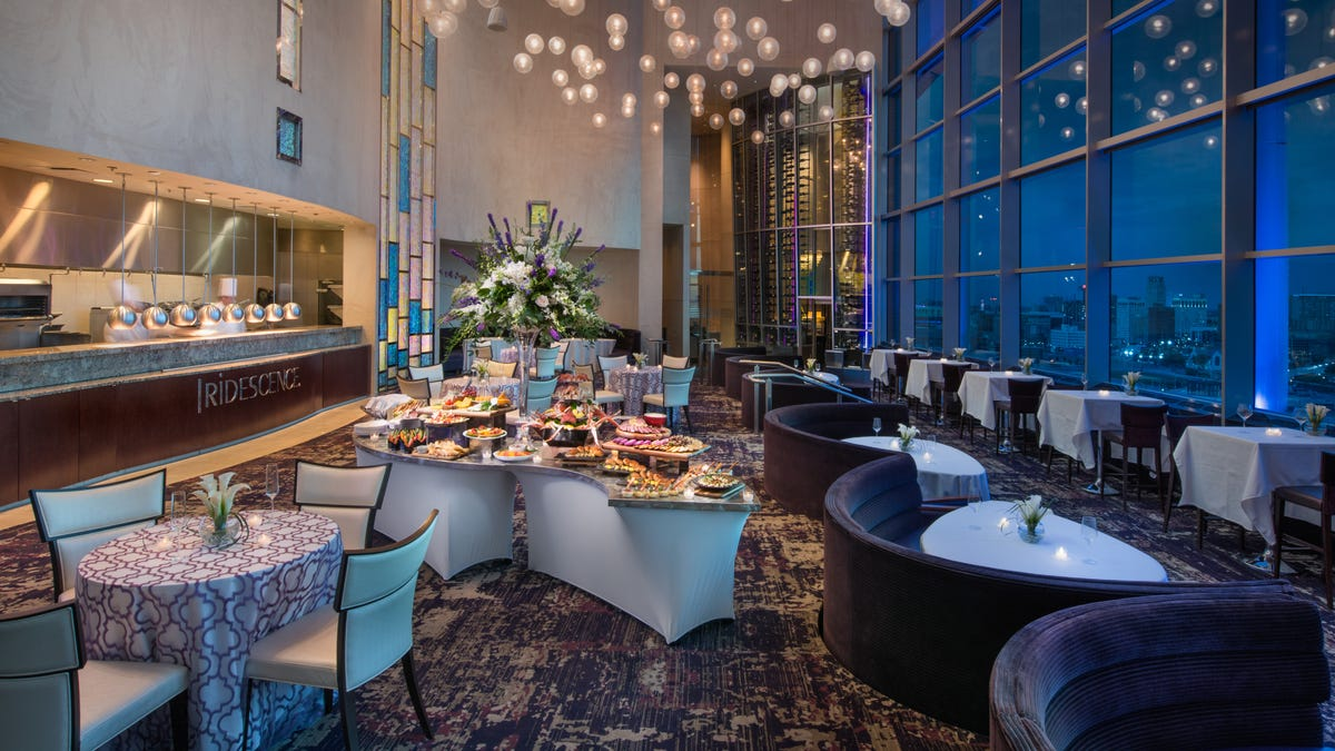 Iridescence restaurant at the top of MotorCity Casino is now an event space with a view 1