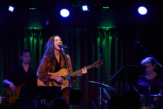 Brianna Barnes, a Mansfield Christian graduate, will be in concert at 8 p.m. Friday at the Mansfield Playhouse.