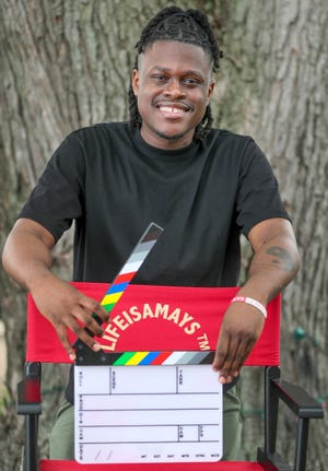 """Milwaukee filmmaker Marquise Mays makes his national television debut July 25 when his short documentary """"Blindspot"""" airs on Aspire TV."""