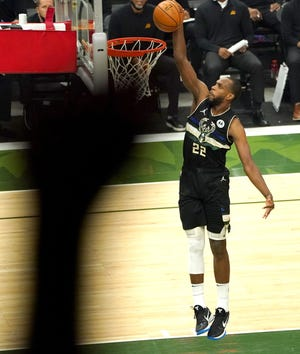 Milwaukee Bucks star Khris Middleton, fresh off an NBA title run, will try to help the Americans knock off France in their Olympic opener on Sunday.