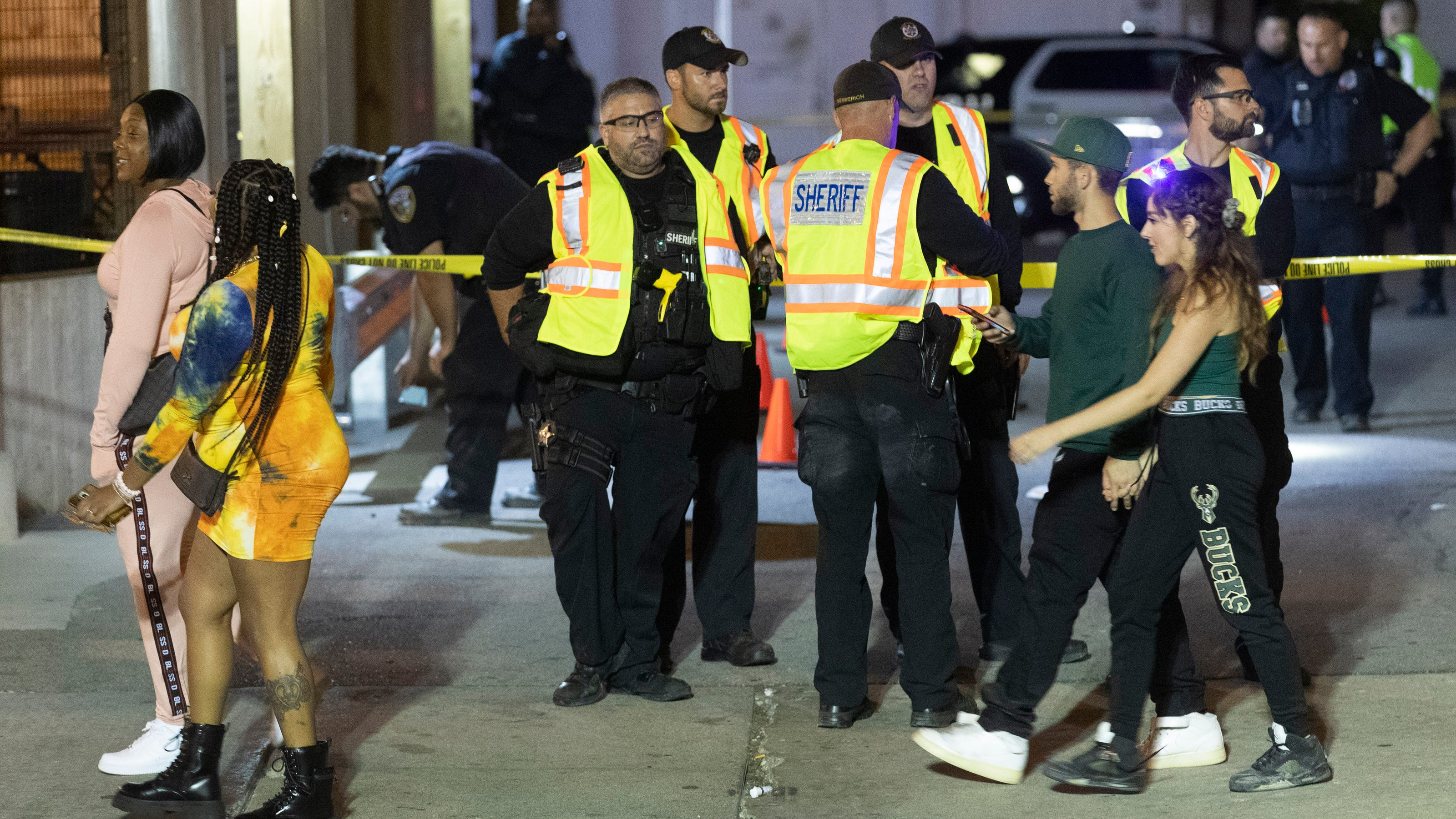 Three People Shot During Milwaukee Bucks Championship Celebration