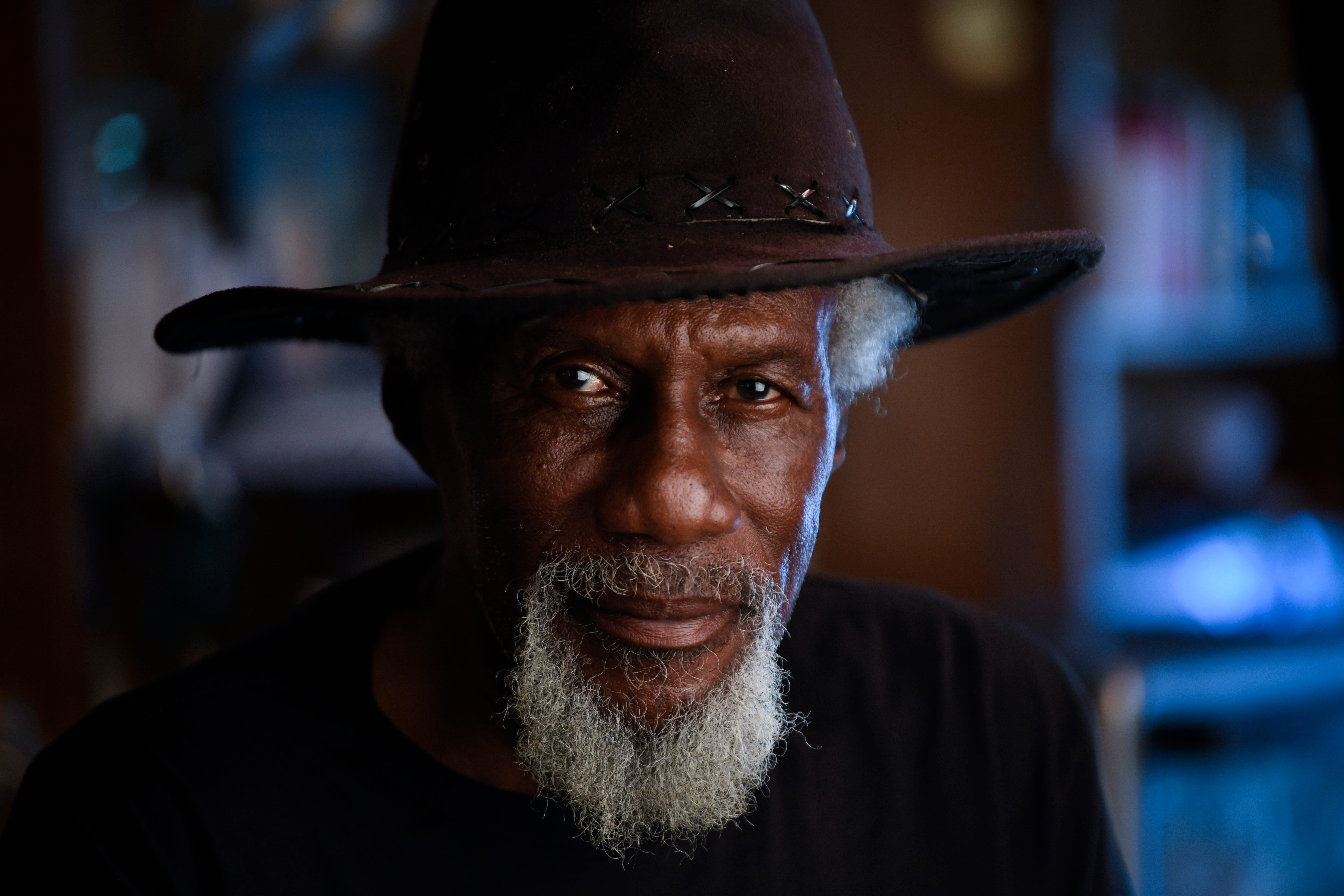 """Robert Finley of Bernice, Louisiana, worked for decades as a carpenter, singing on the side, before a chance discovery led him to Nashville. Now he's ascended to overdue heights, and he's telling his story """"from the cotton fields to Beverly Hills."""" He's shown  July 16, 2021."""