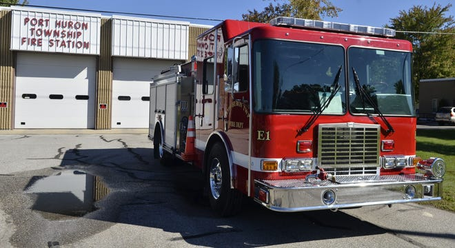 Port Huron Township Fire Department responded to a fire in the 2000 block of Relkin Street Wednesday morning.