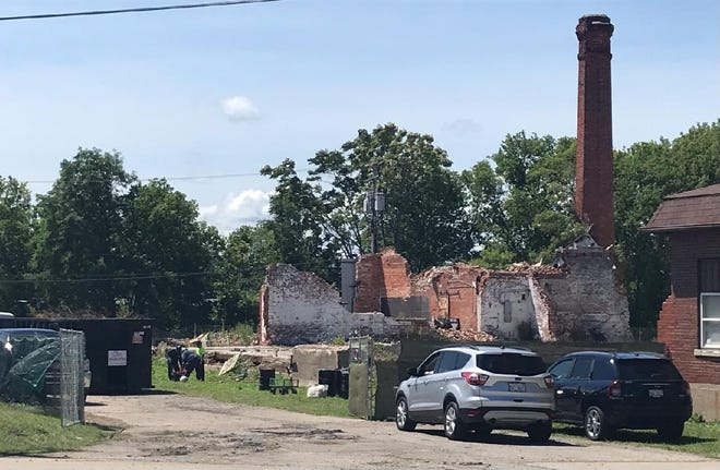 Port Huron Fire Chief Corey Nicholson told city administrators Wednesday, July 21, 2021, that the U.S. Coast Guard and vendor Marine Pollution Control were on site at the Chicory property to continue cleanup oversight.