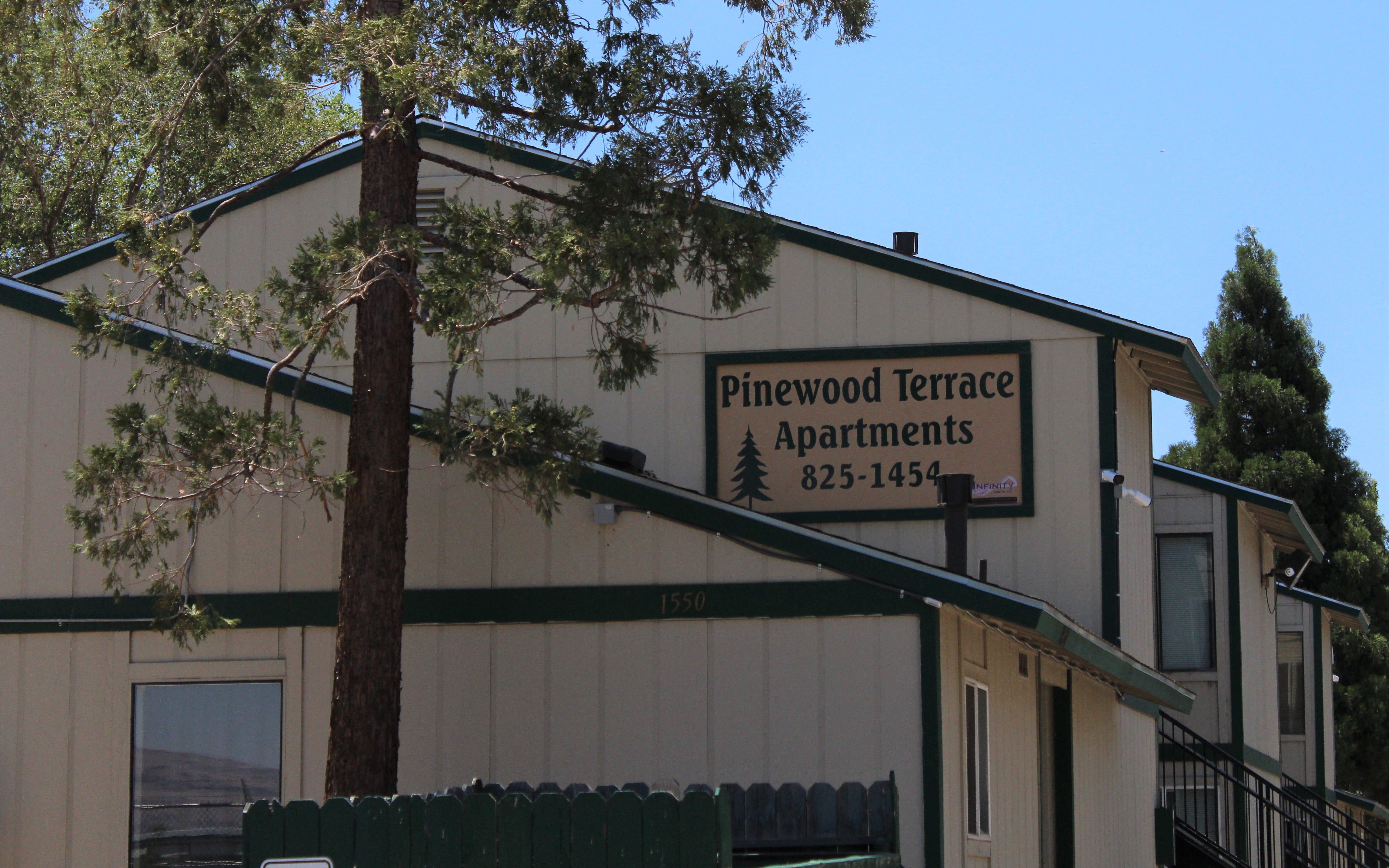 Pinewood Terrace Apartments in Reno. Photo taken July 21, 2021.