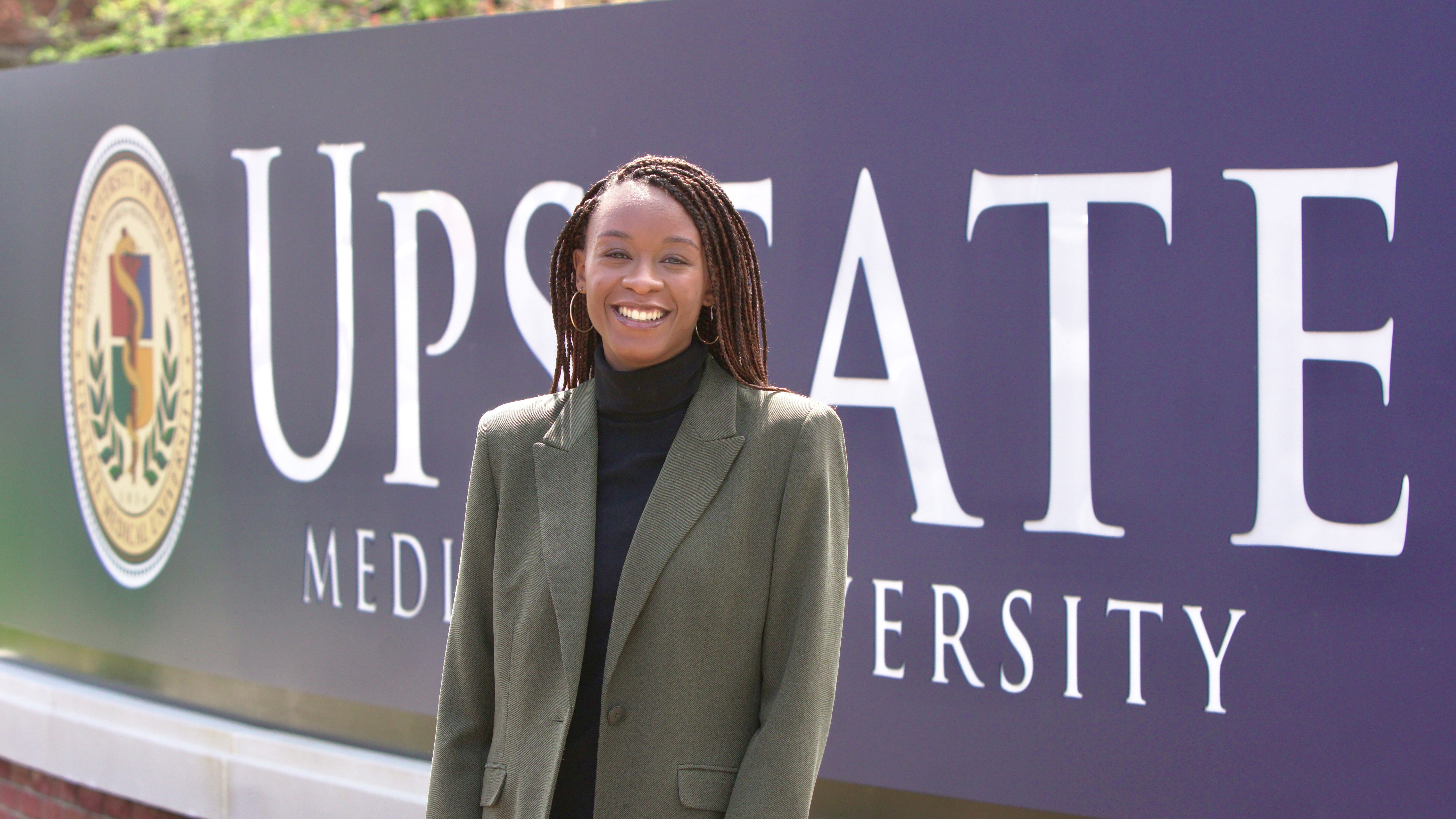 Isabelle Thenor-Louis is a student at Upstate Medical University working to become a hybrid physician-journalist.