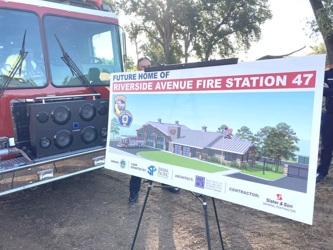 Shasta County is building a new fire station on Riverside Drive in Anderson.