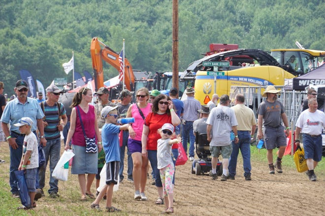 The crowds sure showed up to 2021 Farm Technology Days in Eau Claire, Wis. to enjoy the hot and sunny weather.