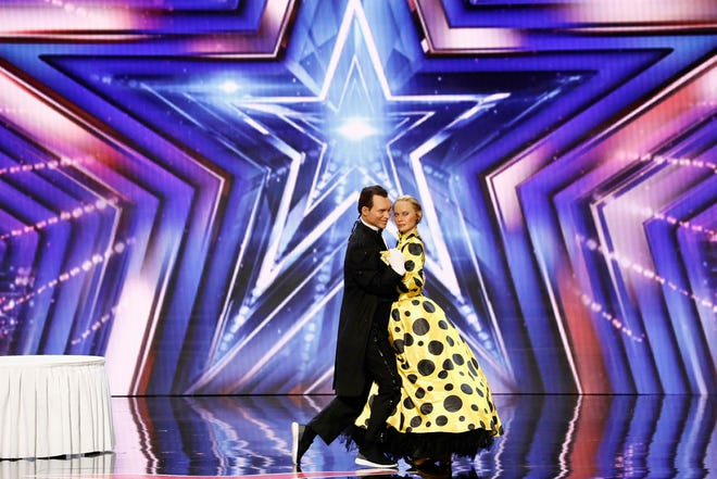 """Pasha and Ailona compete on """"America's Got Talent."""""""