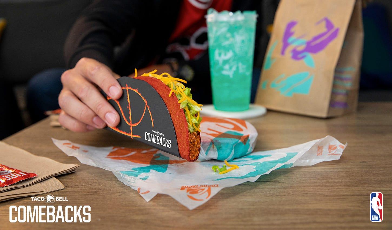 Free tacos and free tea? Taco Bell has free Flamin  Hot Doritos Locos Tacos and McAlister s free tea Thursday