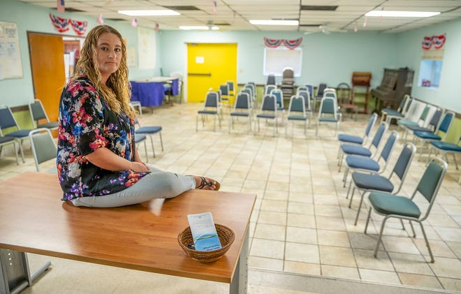 Kari Cooper started going to meetings at the Yellow House Foundation in Cedar Park about 12 years ago, and the meetings helped her so much she is now a sponsor for other women in recovery. The foundation is raising money to move to a new building in Leander.