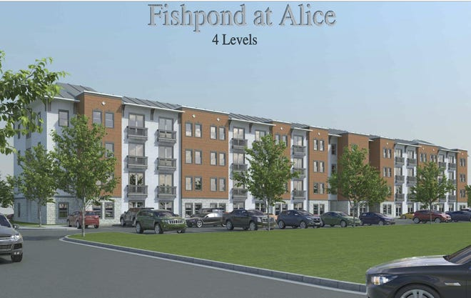 Fishpond Development submitted plans todemolish the old hospital located downtown on 300 and 320 East Third Street andrebuild a four to five multi-story apartment building for seniors ages 55 and older.