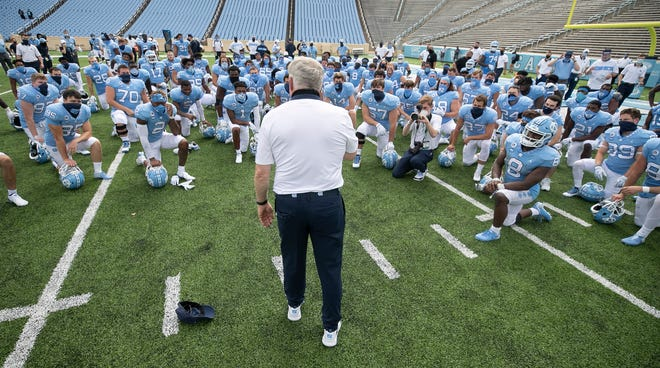 North Carolina head coach Mack Brown has turned things around for the Tar Heels, who have won 15 games and a pair of bowl appearances in his first two seasons after going a combined 5-18 the two years prior.