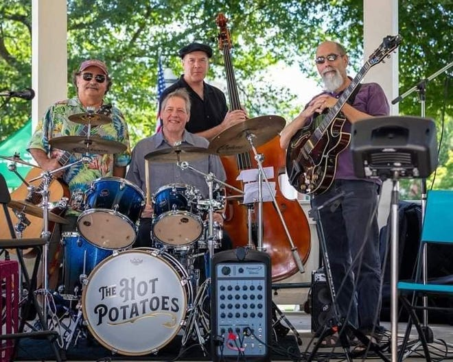 The Hot Potatoes will perform Saturday in Sebring Village. Band members include Kerry Kean, Bobby Patetta, Tim Akin and Bruce Pearce.