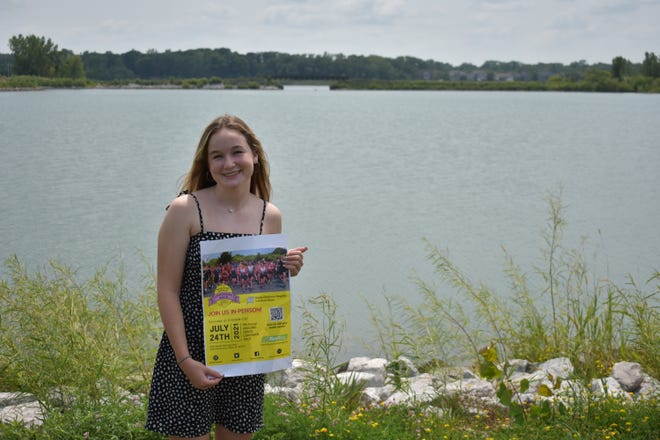 Fifteen-year-old Grace McCunn of Ames is the founder of the Amazing Grace Lemonade Race, which will be held at Ada Hayden Park on Saturday.