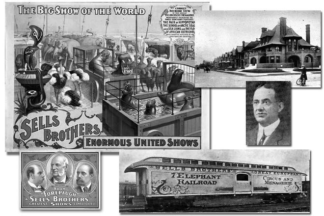 The Sells Brothers Circus was started in Columbus and wintered in Sellsville, just north of King Avenue near the Grandview Heights boundary. At one point, it was the second-largest circus in the nation, with tours that took it all over the country and overseas.