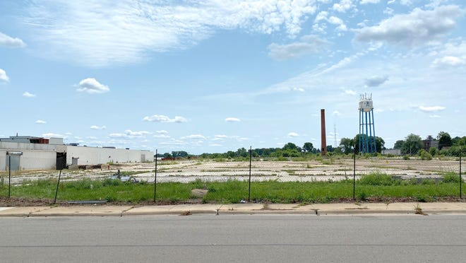 The former Tecumseh Products Co. site on East Patterson Street in Tecumseh is pictured Thursday. Lenawee County is looking into the possibility of building a community recreation facility on the property.